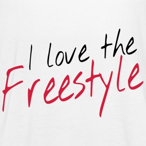I love the freestyle Tops - Women's Tank Top by Bella