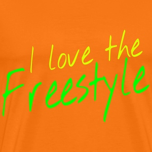 I love the freestyle Camisetas - Camiseta premium hombre