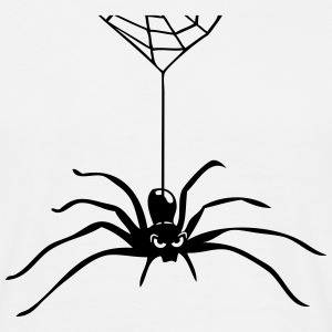 Spider Insect hallween horror cobweb T-Shirts - Men's T-Shirt