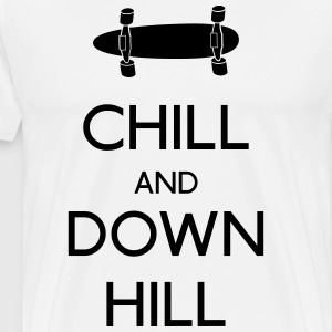 Chill and downhill T-Shirts - Men's Premium T-Shirt