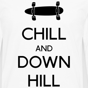 Chill and downhill chill og utfor Skjorter med lange armer - Premium langermet T-skjorte for menn