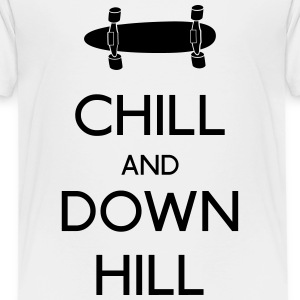 Chill and downhill Shirts - Kids' Premium T-Shirt