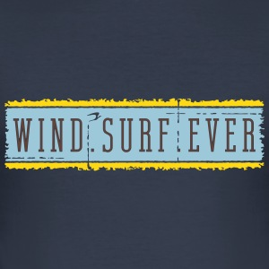 windsurfever_vec_3 en T-Shirts - Men's Slim Fit T-Shirt