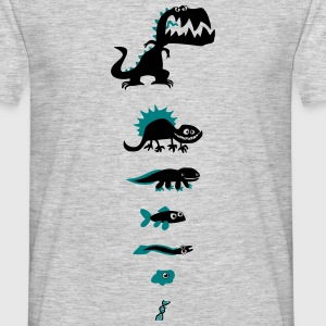 Dino Evolution - Männer T-Shirt