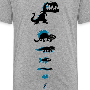 Dino Evolution - Kinder Premium T-Shirt