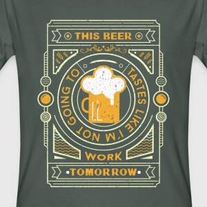 Mörkgrå this beer tastes like... T-shirts - Ekologisk T-shirt herr