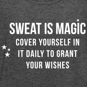Sweat is Magic - Women's Tank Top by Bella