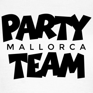 Mallorca Party Team (NL) T-shirts - Vrouwen T-shirt