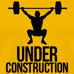 under construction T-shirts - Mannen Premium T-shirt