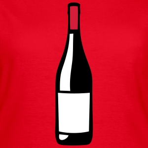 bouteille vin rouge 12012 Tee shirts - T-shirt Femme