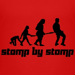 Stomp by Stomp (Vector) - Teenage Premium T-Shirt