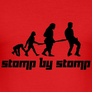 Stomp by Stomp (Vector) - Männer Slim Fit T-Shirt