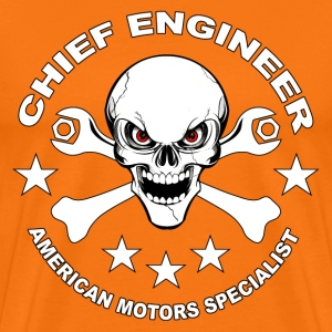 Chief engineer T-Shirts - Men's Premium T-Shirt