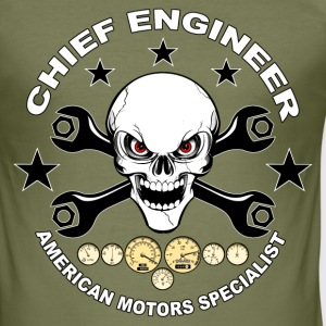 Chief engineer 02 T-Shirts - Men's Slim Fit T-Shirt