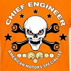 Chief engineer 02 T-Shirts - Men's Ringer Shirt