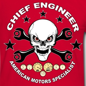 Chief engineer 02 T-Shirts - Männer Kontrast-T-Shirt