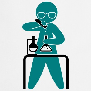 A scientist holding a test tube  Aprons - Cooking Apron