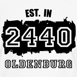 Established 2440 Oldenburg T-Shirts - Männer Kontrast-T-Shirt
