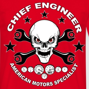 Chief engineer 03 T-Shirts - Männer T-Shirt