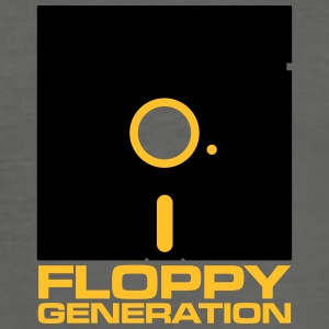 Floppy Generation - Diskett - Slim Fit T-shirt herr
