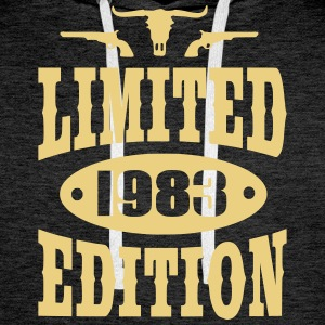 Limited Edition 1983 Hoodies & Sweatshirts - Men's Premium Hoodie