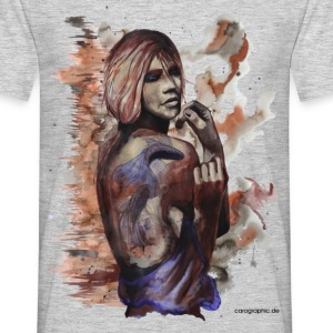 carographic, Aquarell, Frau, Tattoo, carographic - Männer T-Shirt