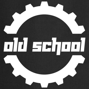 Old School (Vector) - Kochschürze