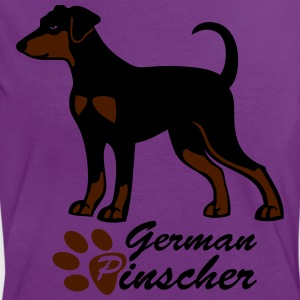 My German Pinscher  T-Shirts - Frauen Kontrast-T-Shirt