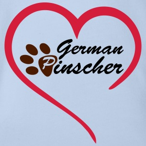 Love German Pinscher T-Shirts - Baby Bio-Kurzarm-Body