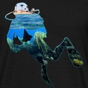 Diver in the house Part 3 T-Shirts - Männer T-Shirt