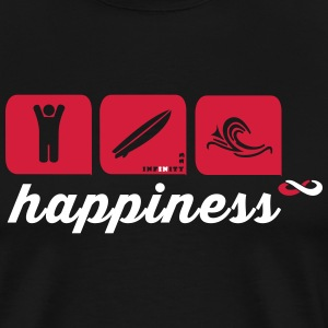 Happiness 2 Colours T-Shirts - Men's Premium T-Shirt