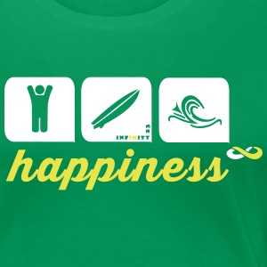 Happiness 2 Colours T-Shirts - Women's Premium T-Shirt