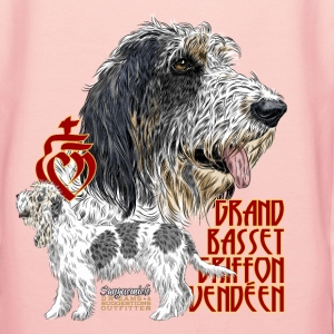 grand basset Sweat-shirts - Sweat-shirt à capuche Premium pour femmes
