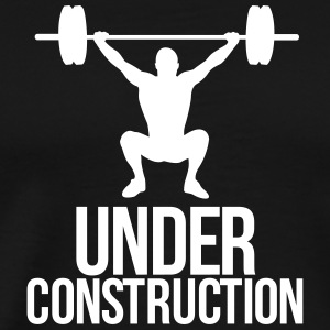 under construction T-Shirts - Men's Premium T-Shirt