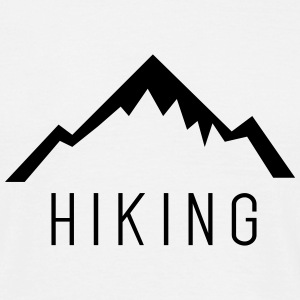 Hiking Outdoor Mountain T-Shirts - Männer T-Shirt