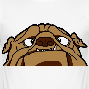 Een Engels Bulldog T-shirts - slim fit T-shirt