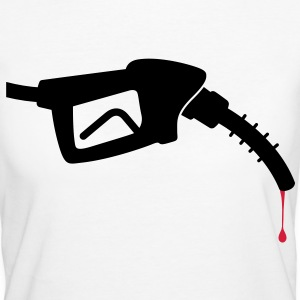 A nozzle with blood T-Shirts - Women's Organic T-shirt