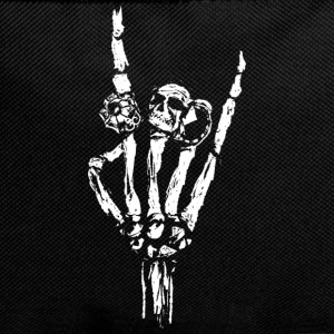 Skeleton hand with rings Bags & Backpacks - Backpack