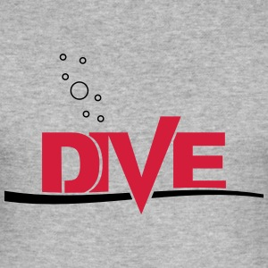 Dive - Männer Slim Fit T-Shirt