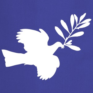 Peace Dove (Vector) - Cooking Apron