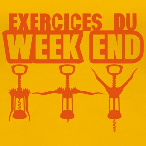 exercices week end tire bouchon gym 1912 Tee shirts - T-shirt Premium Femme