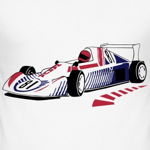 Racecar - Formela 1 T-Shirts - Men's Slim Fit T-Shirt