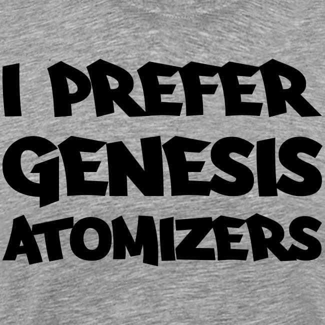 I prefer genesis