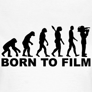 Evolution Film T-Shirts - Frauen T-Shirt