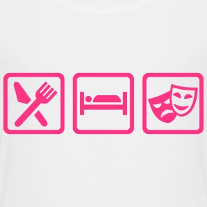 Eat sleep Theater T-Shirts - Kinder Premium T-Shirt