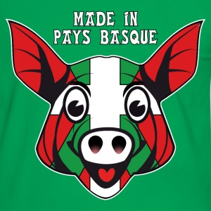 cochon basque 03 Tee shirts - T-shirt contraste Homme