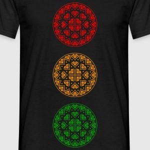 Traffic Light Party - Men's T-Shirt