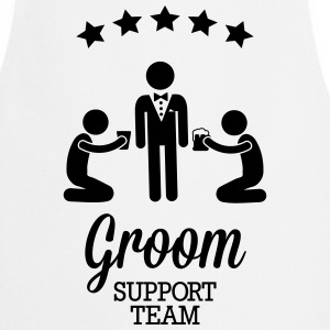 Groom Support Team  Aprons - Cooking Apron