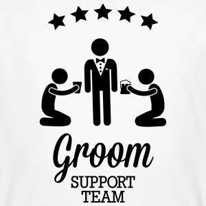 Groom Support Team Tee shirts - T-shirt bio Homme