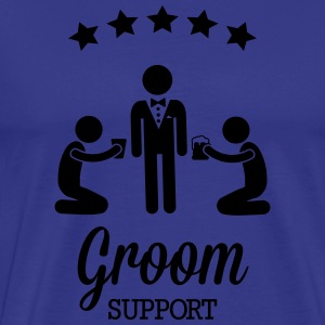 Groom Support Bier T-shirts - Premium-T-shirt herr
